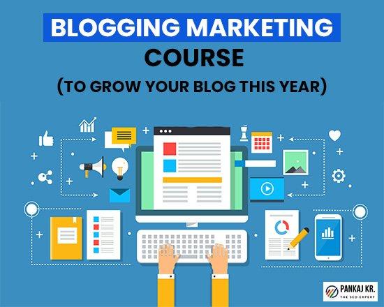 Blogging Marketing Course